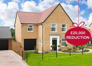"Thumbnail 3 bed detached house for sale in ""Bradwell"" at Hanzard Drive, Wynyard Business Park, Wynyard, Billingham"