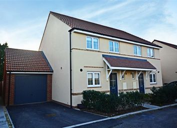 Thumbnail 3 bed semi-detached house for sale in Kew Place, Richmond Gardens, Longlevens, Gloucester