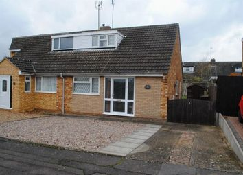 Thumbnail 2 bed semi-detached house for sale in Hedgerow Drive, Kingsthorpe, Northampton