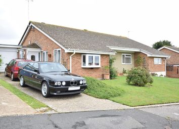 Thumbnail 3 bedroom semi-detached bungalow for sale in St. Dominic Close, St Leonards-On-Sea, East Sussex