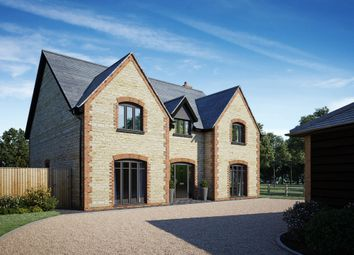 Thumbnail 4 bed detached house for sale in Juniper House, Silver Street, Fernham, Faringdon, Oxfordshire