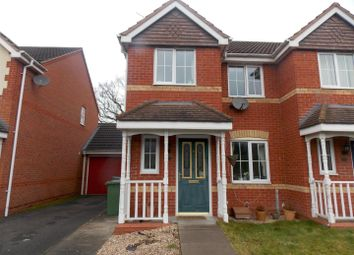 Thumbnail 3 bed end terrace house to rent in Swan Drive, Droitwich