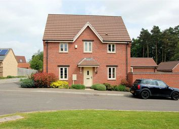 Thumbnail 3 bed detached house for sale in Darwin Court, Colsterworth, Grantham
