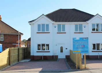 Thumbnail 3 bed semi-detached house for sale in Hamilton Road, Hamworthy, Poole