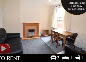 Thumbnail 4 bed terraced house to rent in Hartopp Road, Leicester, Leicestershire