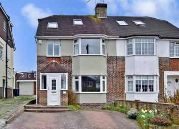 Thumbnail 4 bed semi-detached house for sale in Sunnydale Avenue, Brighton, East Sussex