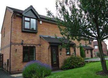 Thumbnail 2 bed semi-detached house to rent in Kibworth Close, Oakwood, Derby
