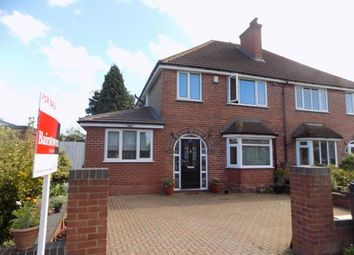 Thumbnail 4 bed semi-detached house for sale in Reddicap Heath Road, Sutton Coldfield, West Midlands, .