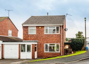 Thumbnail 3 bed link-detached house for sale in Birchwood Road, Woolaston, Lydney