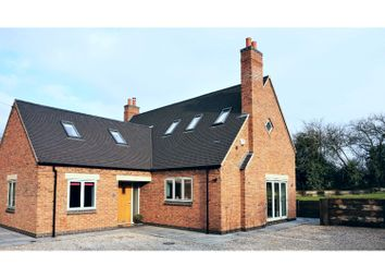 Thumbnail 4 bed detached house for sale in Ashby Road, Measham