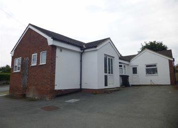 Thumbnail 3 bed detached bungalow to rent in Garreg Fach, Melverley View, Crew Green, Shrewsbury, Shropshire