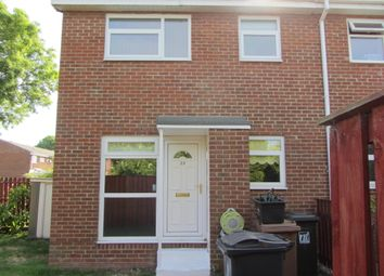 Thumbnail 1 bed semi-detached house to rent in Worsley Close, Wallsend