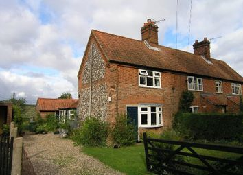 Thumbnail 2 bed cottage to rent in The Street, Ringland, Norwich