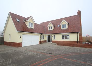 Thumbnail 4 bed detached house for sale in Keeble Road, Brantham, Manningtree