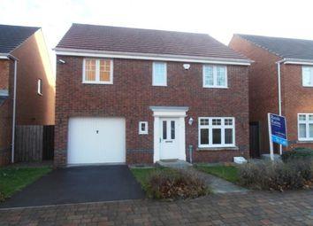 Thumbnail 4 bedroom detached house for sale in Kelvedon Avenue, Central Grange, Newcastle Upon Tyne