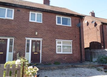 Thumbnail 3 bed semi-detached house to rent in Burntwood Crescent, South Kirkby