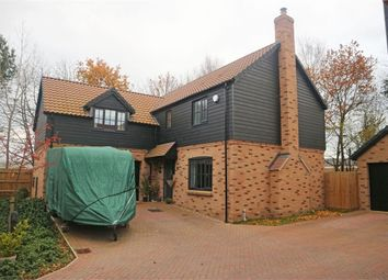 Thumbnail 4 bed detached house for sale in Applewood, Buntingford, Hertfordshire