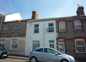 Thumbnail 2 bedroom terraced house for sale in Evans Street, Barry