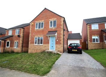 Thumbnail 4 bed detached house for sale in Plowes Way, Knottingley, West Yorkshire