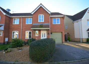 Thumbnail 5 bed semi-detached house for sale in Keel Close, Carlton Colville, Lowestoft