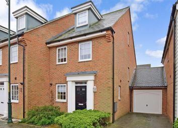 Thumbnail 3 bed end terrace house for sale in Hazen Road, Kings Hill, West Malling, Kent
