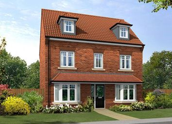 "Thumbnail 5 bed detached house for sale in ""The Kenilworth"" at Lovesey Avenue, Hucknall, Nottingham"