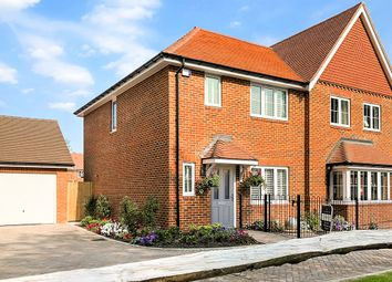 Thumbnail 3 bed semi-detached house for sale in The Pagham, Ellsworth Park, Foreman Road, Ash, Surrey