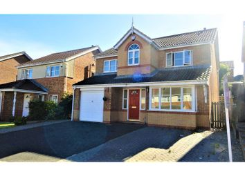 Thumbnail 4 bed detached house for sale in Tavistock Close, Hartlepool