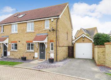Thumbnail 3 bed semi-detached house to rent in Saxon Walk, Iwade, Sittingbourne, Kent