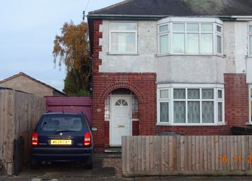Thumbnail 3 bed semi-detached house for sale in Yorkshire Rd, Belgrave Leicester