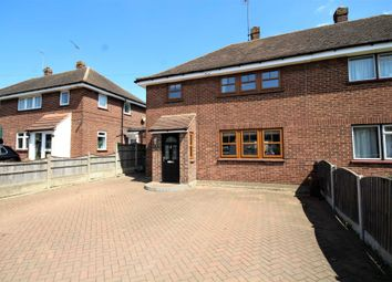 Thumbnail 4 bed semi-detached house for sale in Danes Way, Pilgrims Hatch, Brentwood