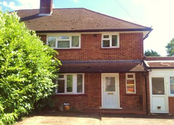 Thumbnail 1 bed semi-detached house to rent in Spring Rise, Egham