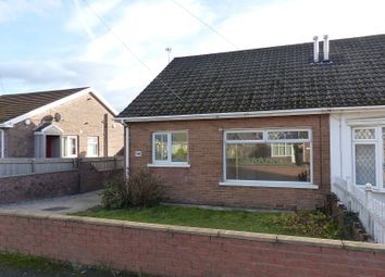 Thumbnail 3 bed semi-detached bungalow for sale in Heol Croesty, Pencoed, Bridgend.