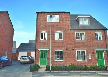 Thumbnail 4 bed semi-detached house to rent in Damselfly Road, Northampton