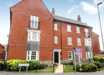 Thumbnail 2 bed flat for sale in Greetham Way, Syston, Leicester, Leicestershire