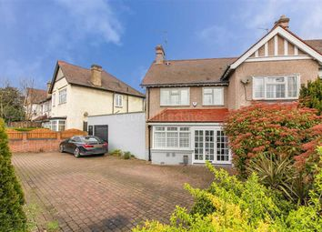 Thumbnail 3 bedroom semi-detached house for sale in Kingfisher Avenue, Wanstead, London