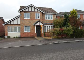 Thumbnail 4 bed detached house for sale in Half Acre Court, Caerphilly