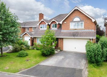 Thumbnail 5 bed detached house for sale in St. Catherine Drive, Hartford, Northwich