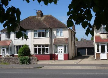Thumbnail 3 bedroom semi-detached house for sale in Southfarm Road, Broadwater, Worthing