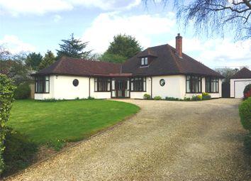 Thumbnail 4 bed detached bungalow for sale in Woodstock Road East, Begbroke, Kidlington, Oxfordshire