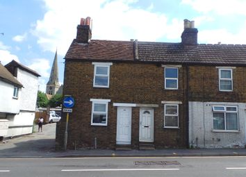 Thumbnail 2 bed end terrace house to rent in Upper Stone Street, Maidstone