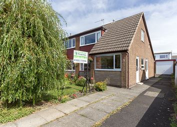 Thumbnail 3 bed semi-detached house for sale in Rossall Close, Padiham, Burnley