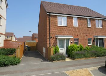 Thumbnail 2 bed semi-detached house for sale in San Andres Drive, Newton Leys, Milton Keynes