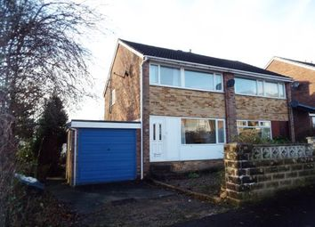 Thumbnail 3 bed semi-detached house for sale in Pye Nest Grove, Halifax, West Yorkshire
