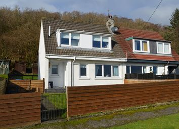Thumbnail 2 bed semi-detached house for sale in Miller Avenue, Innellan, Argyll And Bute