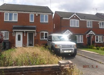 Thumbnail 2 bed terraced house to rent in Biddlestone Grove, Walsall