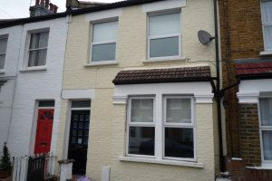 Thumbnail 3 bed terraced house to rent in Meadow Road, Wimbledon, London