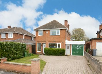 Thumbnail 3 bed detached house for sale in Sansome Road, Shirley, Solihull