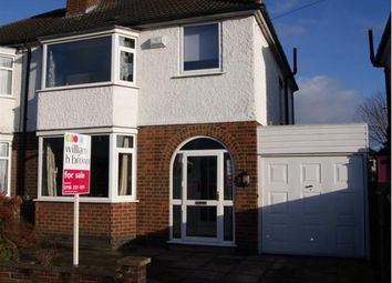 Thumbnail 3 bed semi-detached house for sale in Wynfield Road, Western Park, Leicester