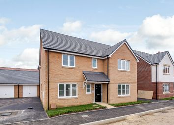 Thumbnail 4 bed detached house for sale in March Road, Wimblington, March